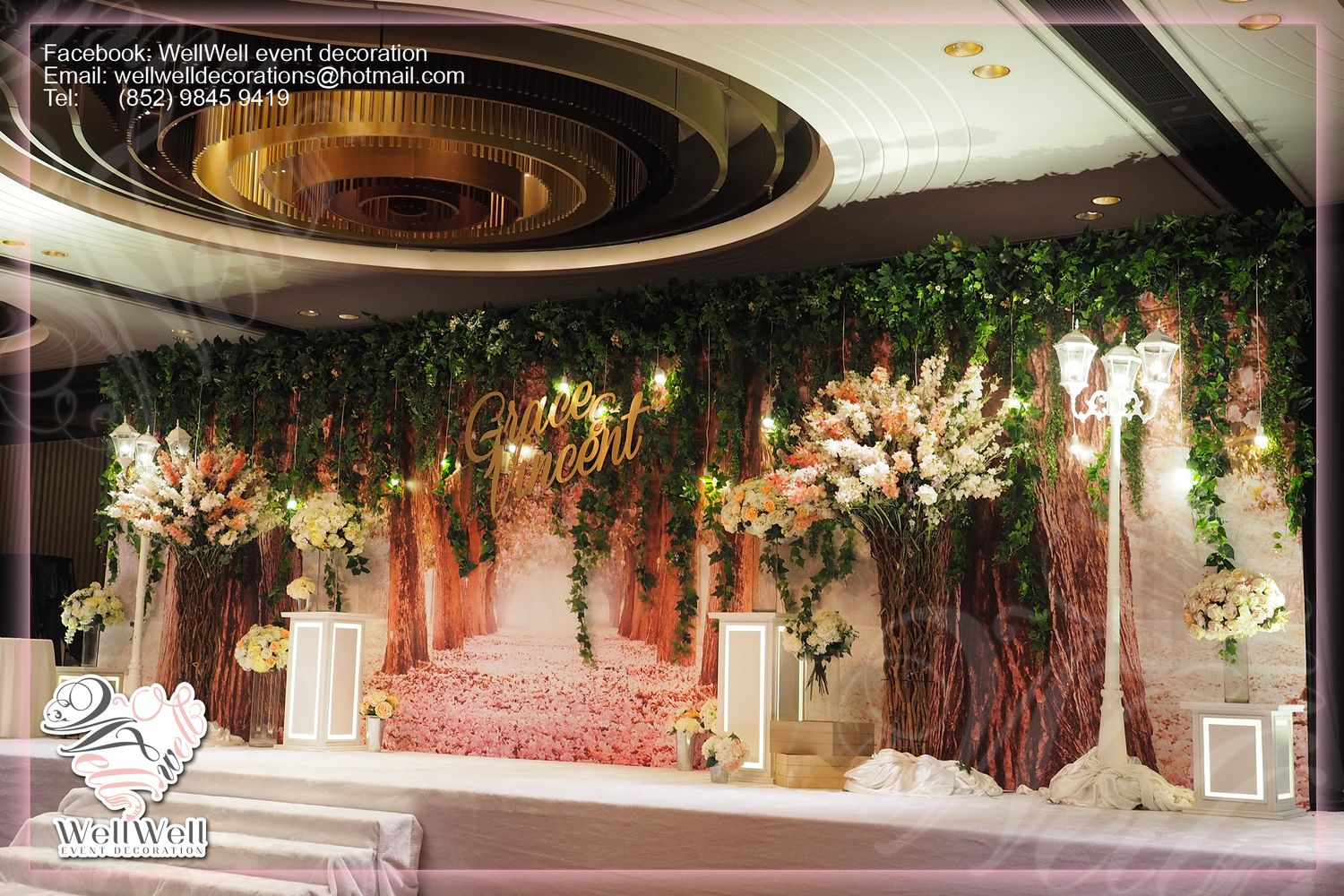 Wedding decoration kln for Hotel wedding decor