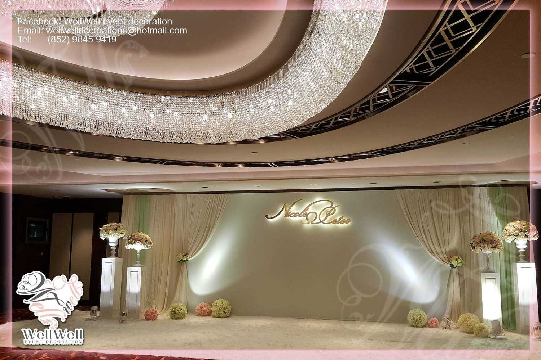 Wedding decoration hk grand hyatt hotel wedding decoration junglespirit Image collections